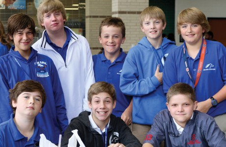 Austin Courtney, Luke Eversole, Robert McGee, Samuel Sheffield, Hank Harris, John Morestead, Reece Tiras, Charlie Mullen
