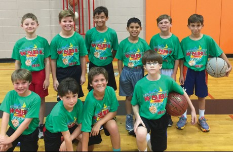 Westchester Summer Basketball League's fourth-grade boys Green team