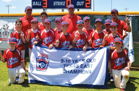 The Post Oak Little League 10U All Star team
