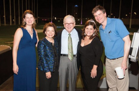Lindy McGee, M.D., Joyce Haufrect, Eric Haufrect, M.D., Anna Dragsbaek and Tom McGee