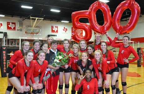 500 wins for MHS volleyball coach