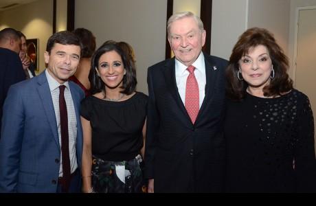 Michael Rezendes, Rania Mankarious, Dave Ward, Laura Ward