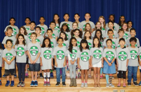 Condit Elementary students