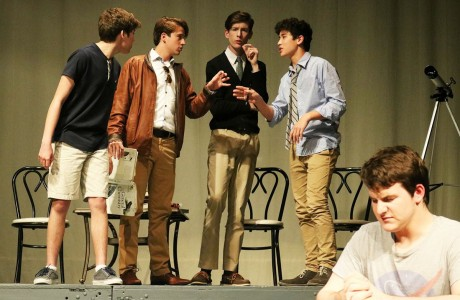 Student-directed one-act plays