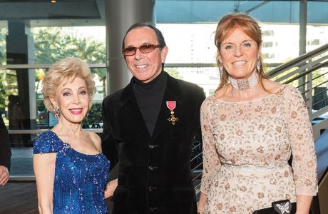 Margaret Alkek Williams, Clive Christian, Sarah Ferguson, Duchess of York