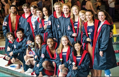 Lamar High School swimming and diving team