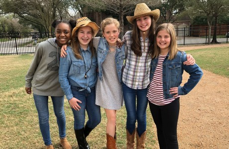 Raven Woods, Addison Berger, Lily Riddle, Caroline Cannon, Sophie Donalson
