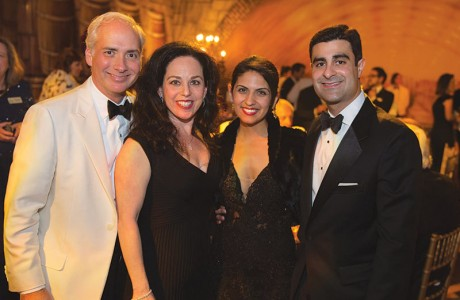 David and Viviana Denechaud and Lillian and Cyrus Irani