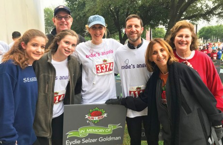 Jordan Guy, Hayley Selzer, Howard Schultz, Linda Lang, Scott Selzer, Elyse Schultz and Sara Brook