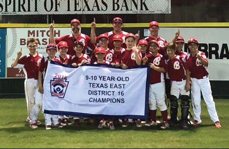 Bellaire Little League 10U tournament team