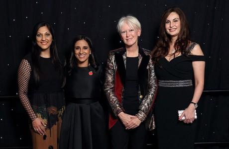 Sippi Khurana, Rania Mankarious, Joanna Coles, Brigitte Kalai