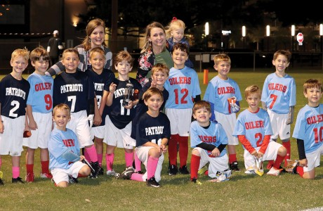 Rummel Creek Elementary flag football