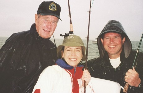 John Lisenby, Nancy Lisenby, George H.W. Bush,
