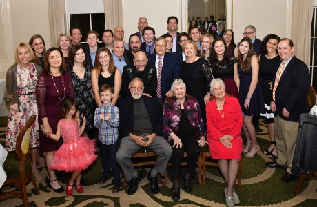 Family at 100th birthday