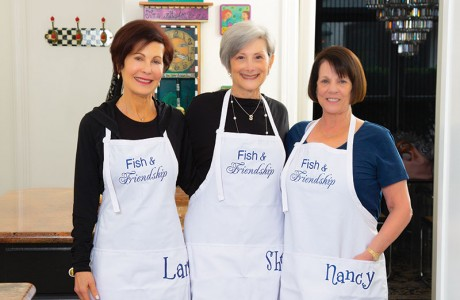 Lara Ladin, Shellie Lewis and Nancy Levinthal