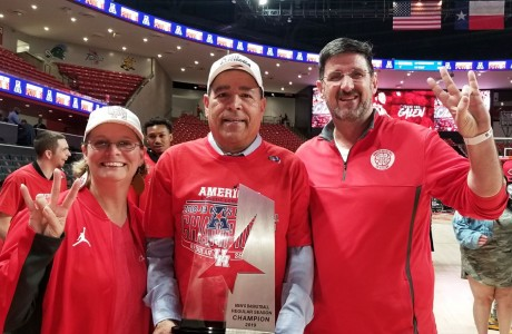 Patty Godfrey, Kelvin Sampson, Kevin Godfrey