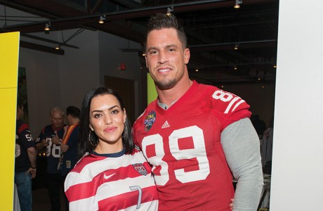 Megan and Brian Cushing