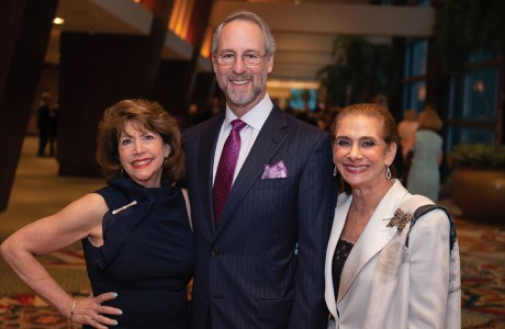 Nancy Freed and Dr. Milton and Gail Klein