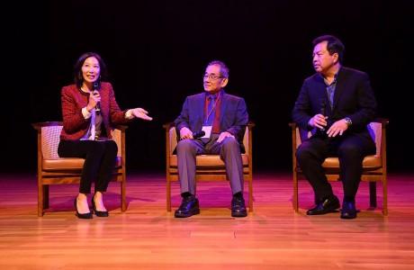 Karen Fang, Rick Quan, Al Young