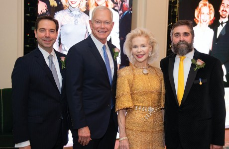 Jim Nelson, Jesse H. Jones II, Lynn Wyatt and Stanton Welch