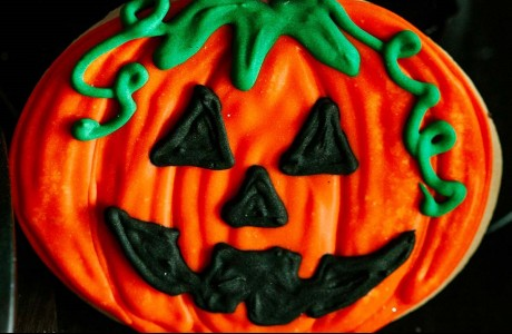Halloween Butter Cookie