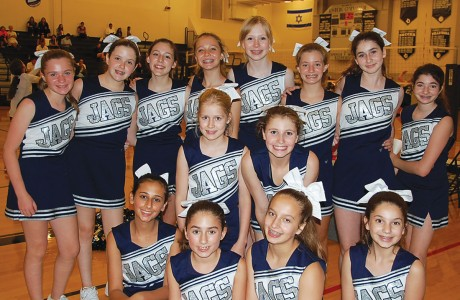 Emery/Weiner School cheerleaders
