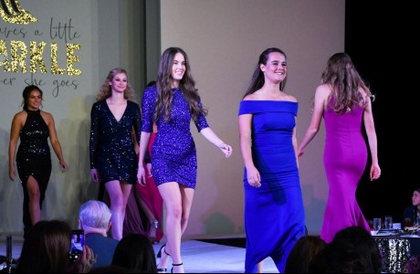 Seniors on the runway