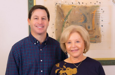 Josh Pesikoff and mom Bette Pesikoff