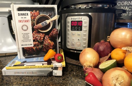 Instant Pot and cookbook
