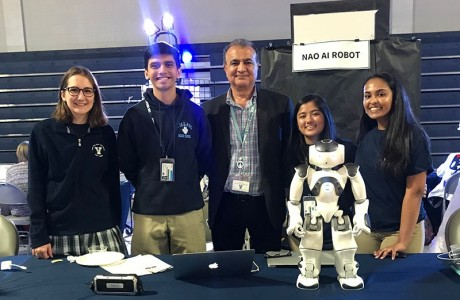 Team with robot