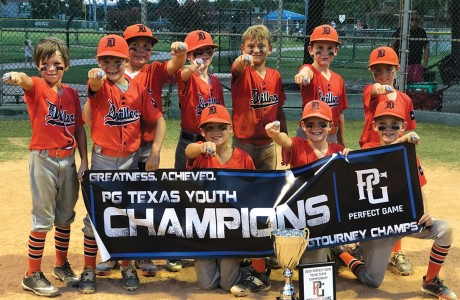 The 8U Texas Drillers