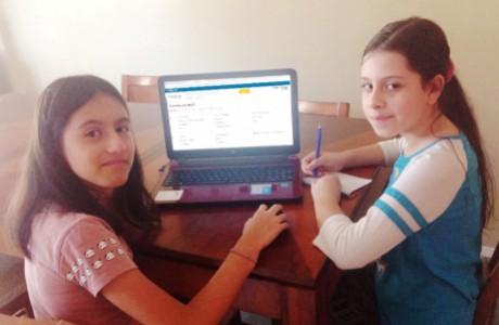 Sophie and Zena Gutierrez