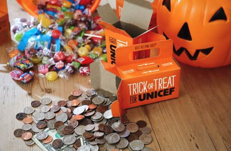 Trick or treat for UNICEF