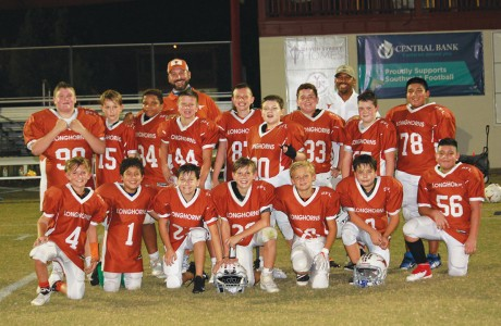 Southwest Football League's (SFL) junior Longhorns