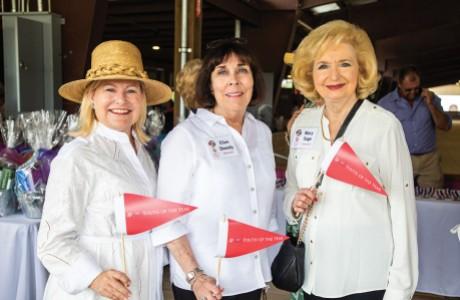 Maureen Higdon, Ellen Sheedy, and Mary Sage