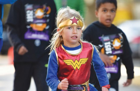 King & Spalding's West U Halloween Dash and Kids Fun Run