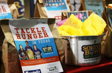 Hunger Bags available at grocery stores