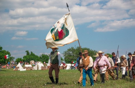 San Jacinto Day Festival & Battle Reenactment