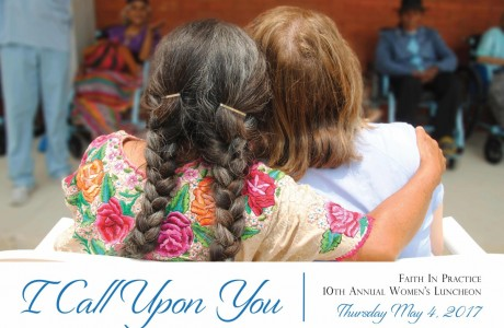 10th Annual Women's Luncheon: I Call Upon You