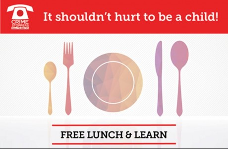 Crime Stoppers of Houston's Lunch & Learn: Child Abuse Prevention