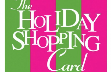 Holiday Shopping Card
