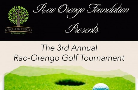 3rd Annual Rao-Orengo Golf Tournament