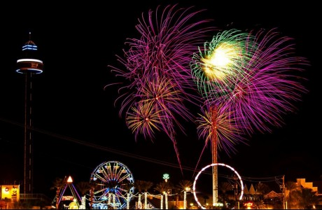 Kemah Boardwalk's New Year's Eve Celebration