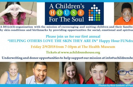 Helping Others Love the Skin They Are In Happy Hour FUNdraiser