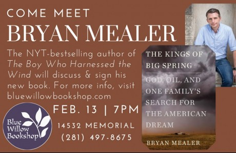 Bryan Mealer at Blue Willow Bookshop