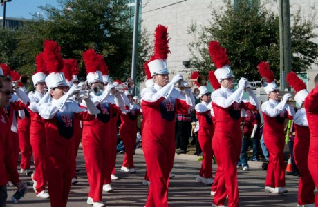 U of H marching band