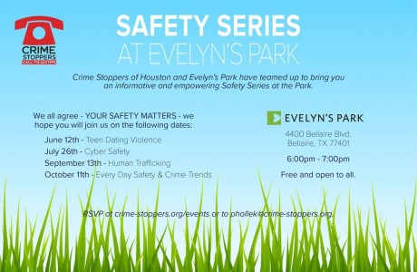 Safety Series at Evelyn's Park