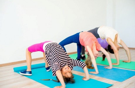 Yoga First Sundays at Children's Museum