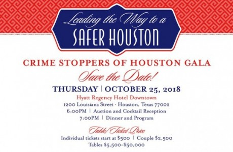 Crime Stoppers of Houston's 26th Annual Crime Stoppers Gala