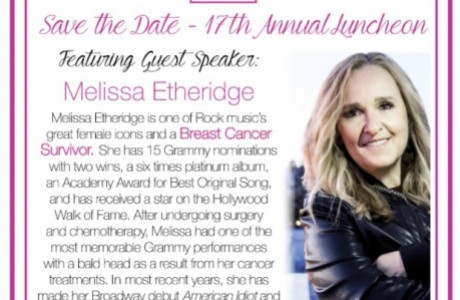 Nancy Owens Breast Cancer Foundation's 17th Annual Luncheon featuring Melissa Etheridge